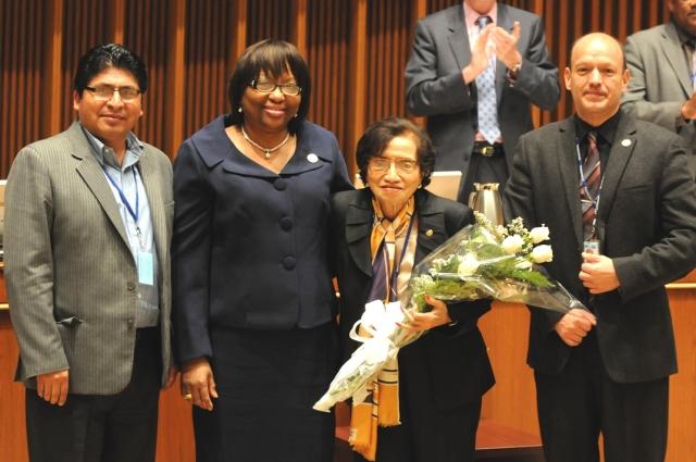 Dr. Maria Isabel Rodriguez Minister of El Salvador Recognition (1)