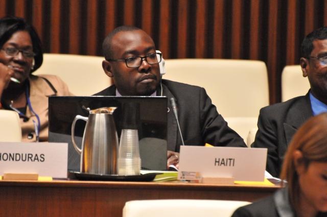 Delegate from Haiti