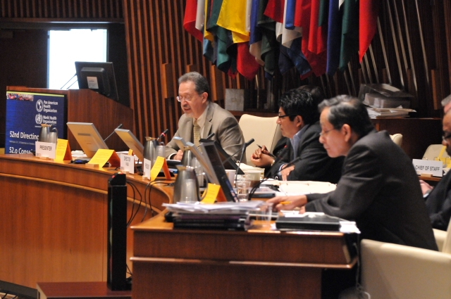 Resolutions and Actions of Interg Organiz of interest  to PAHO (71)